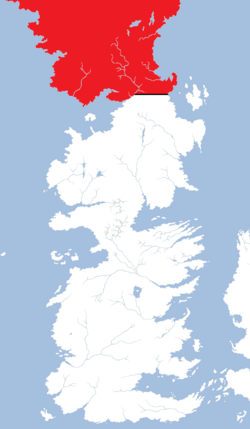 Beyond the Wall region