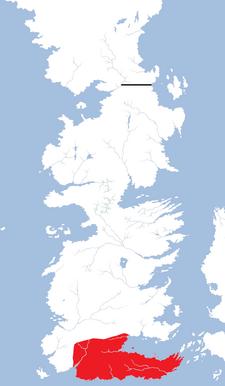 Dorne region