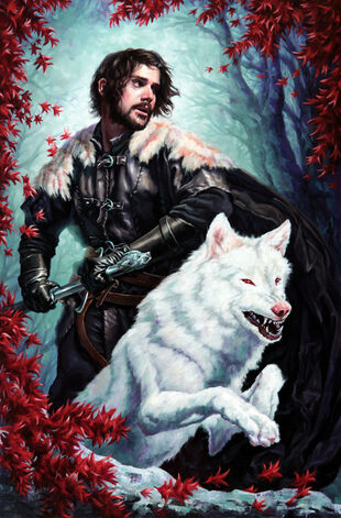 Does jon snow die in the books