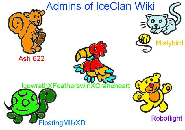 File:Admins on IceClan Wiki.jpg