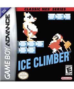 Ice Climber Box Art NA GBA