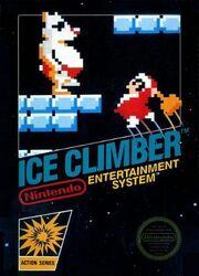 Ice Climber Caratula norteamericana
