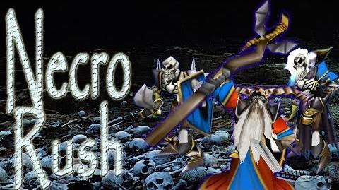 Video - Warcraft 3 - Necro Rush | Ice Crown Server Wikia