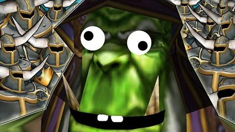 Video - Warcraft 3 - 1 vs 11 Insane Bots | Ice Crown Server