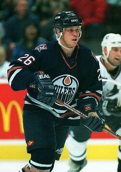 Todd Marchant Edmonton Oilers 1997