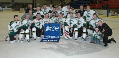 2012 Savage Cup champions Powel River REgals