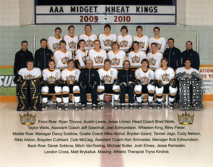 2009-10 Brandon AAA Midget Wheat Kings