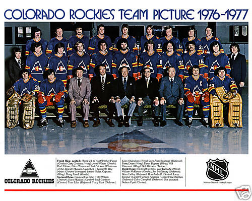 1976 77 Colorado Rockies Season Ice Hockey Wiki Fandom