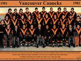 1981–82 Vancouver Canucks season
