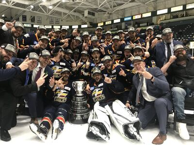 2018 ECHL Kelly Cup Champions Colorado Eagles