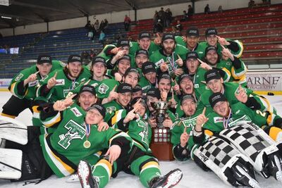 2019 Anavet Cup champions Portage Terriers