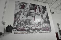 Ed Saugestad mural