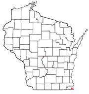 Pleasant Prairie, WI Map