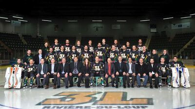Riviere du Loup 3L 2015-16 team photo