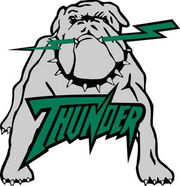 Drayton Valley Thunder Logo