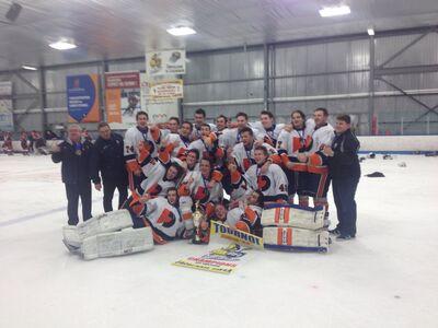 2018 LLJAAHL champions Trois-Rivières Draveurs