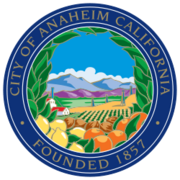 Anaheim, California Seal