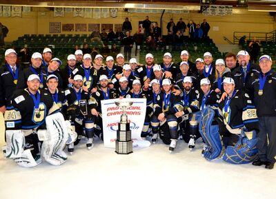 2013 Alberta Senior AAA champions Bentley Generals