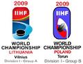 2009 IIHF World Championship Division I Logo.png