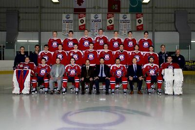 2019 Fred Page cup champions Ottawa Jr Senators
