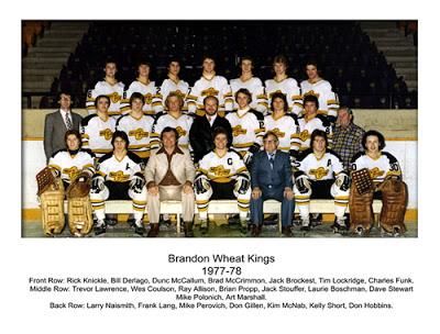 1978 Brandon Wheat Kings