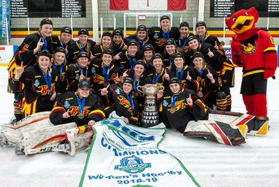 2019 OUA Women's champions Guelph Gryphons