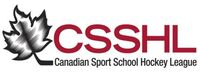 Canadian Sport School Hockey League Logo