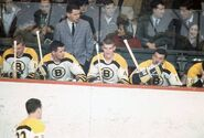 1966-Bruins bench w Orr