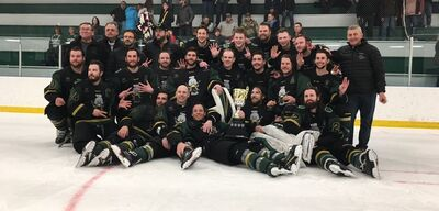 2019 SWHL champions Wilkie Outlaws
