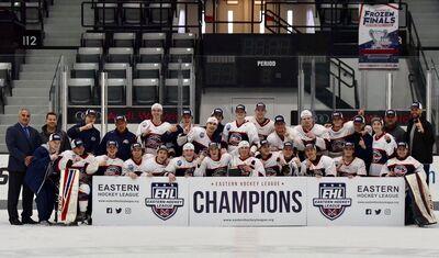 2018 EHLP champions Boston Jr. Rangers