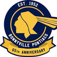 Bonnyville Pontiacs 65th anniversary logo