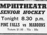 1952-53 Manitoba Senior Hockey League Season