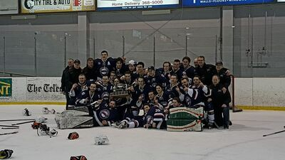 2018 SJJHL champions Mount Pearl Blades