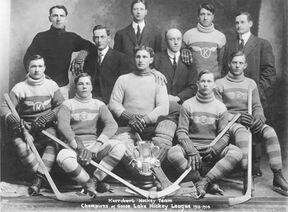 Kerrobert Goose Lake Hockey League champions 1913-14
