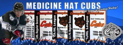 Medicine Hat Cubs history logo