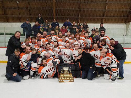 2019 CSHL champions Ste. Anne Aces