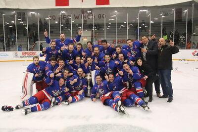 2018 Allan Cup Champions Stoney Creek Generals