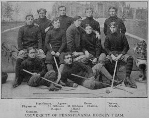 University of Pennsylvania Hockey Team 1897