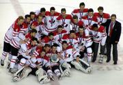 Canada 2012 WJHC bronze team photo