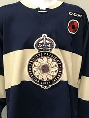 Regina Pats 2018 Memorial Cup Commemorative jersey