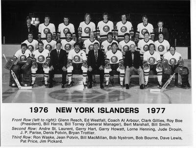 1976-77 Islanders