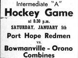 1956-57 OHA Intermediate A Groups