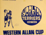 1970-71 Western Canada Allan Cup Playoffs