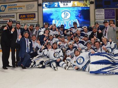 2018 Anavet Cup champions Steinbach Pistons
