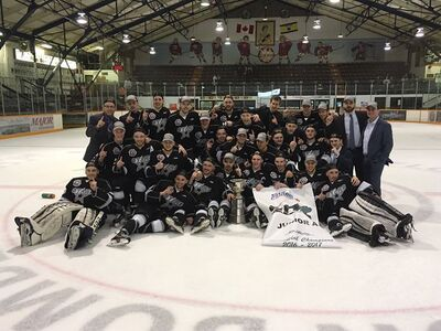 2017 SJHL champs Battlefords North Stars
