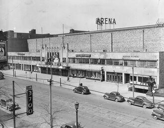 Cleveland Arena exterior