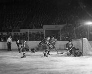 10Apr1949-Smith scores on Lumley