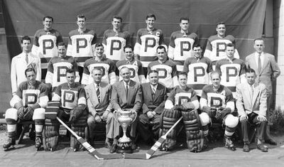 Penticton V's Allan Cup champions 1953-54