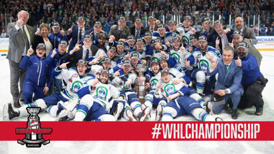 2018 WHL champions Swift Current Broncos