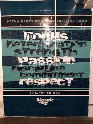 Dayna Brons Memorial Dressing Room